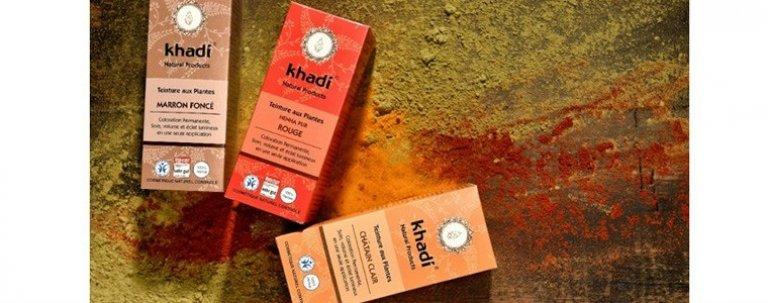 Khadi la coloración capilar ayurveda 100% vegetal