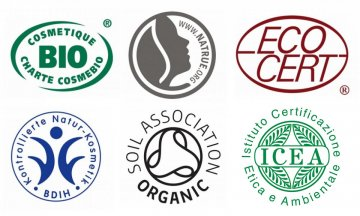 Cosméticos ecológicos certificados