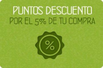 5% en puntos descuento en cosmética natural
