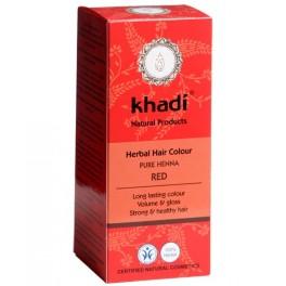KHADI HENNA NATURAL 100% PURA 100G