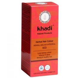 KHADI HENNA NATURAL CON AMLA Y JATROPHA 100ML