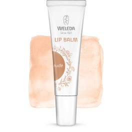 Bálsamo labial Weleda con color nude 10ml
