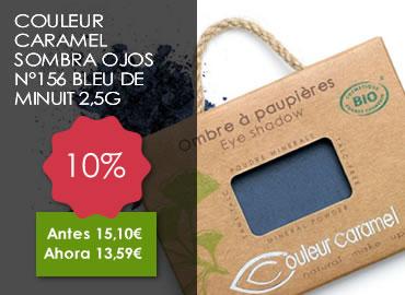 OFERTA COULEUR CARAMEL SOMBRA OJOS Nº156 BLEU DE MINUIT 2,5G