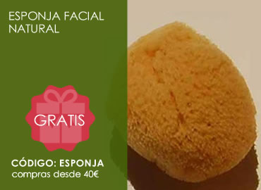 Regalo esponja facial natural
