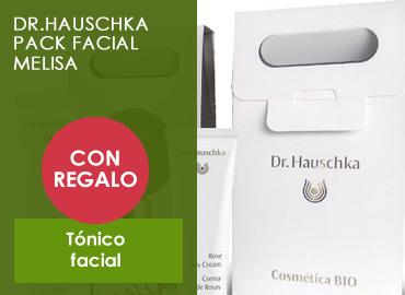 DR.HAUSCHKA PACK FACIAL MELISA +REGALO tónico facial
