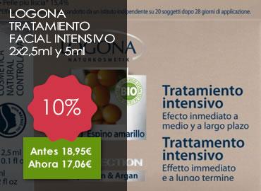 OFERTA LOGONA TRATAMIENTO FACIAL INTENSIVO 2x2,5ml y 5ml